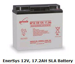 EnerSys 12V, 17.2AH SLA Battery